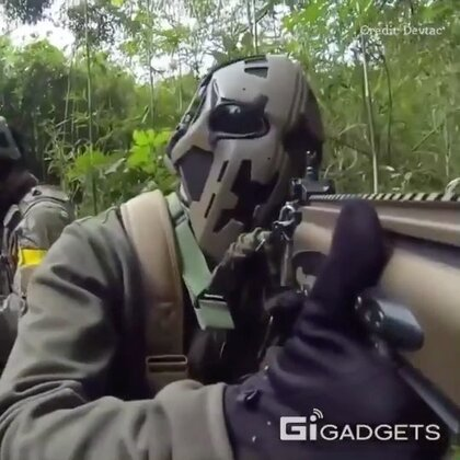 防弹头盔,看着好酷