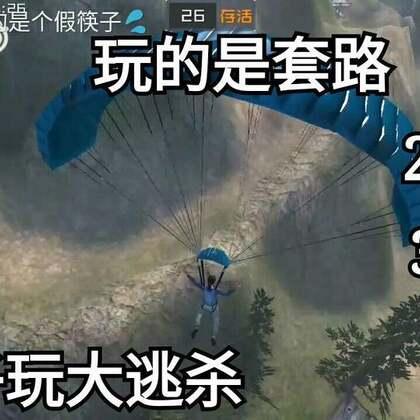 大逃杀 筷子居然玩一种无厘头游戏 具体有戏名:追逐游戏 丛林法则#游戏##搞笑#