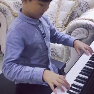 节后回归,努力练琴中💪#钢琴##钢琴曲##小小钢琴家#