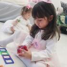 #混血宝宝##混血儿##混血萝莉#跟小爱丽一起的生日派对记事,准备了几天,孩子们玩的开心,满满的幸福感❤😙