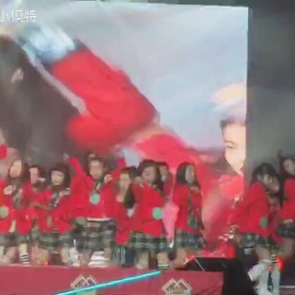 USSO girl 韩国行第一场演出 棒棒的 你们能找到萱宝吗😄