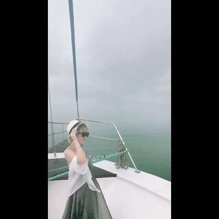 下雨天出海#自拍#@美拍小助手 #泰国之旅##泰国芭提雅#