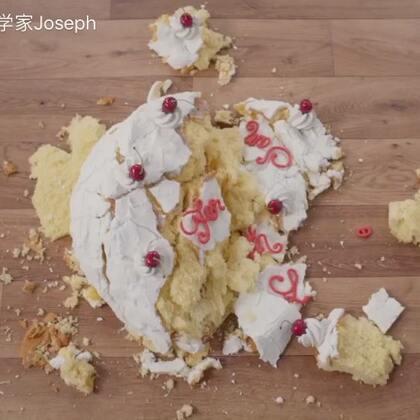 又又又又又惹祸了 吓得我赶紧做了个假蛋糕压压惊#搞笑##歪国人真会玩#