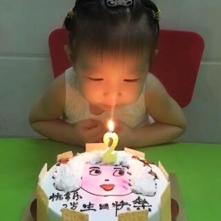 #生日快乐#乐乐今天2周岁了,祝宝贝生日快乐!#宝宝大脑666##宝宝#@美拍精彩合集 @美拍小助手