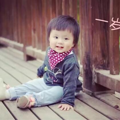 十月十日卖萌日出生的小孩,生日快乐!嗨皮嗨皮!#宝宝##童模#