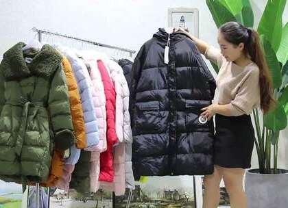 秀衣惠服饰10.10号【独一份】长款棉衣20件1000元