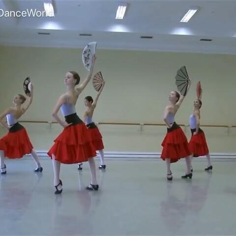 【Cathy_DanceWorld美拍】Vaganova-Character dance#芭蕾#...
