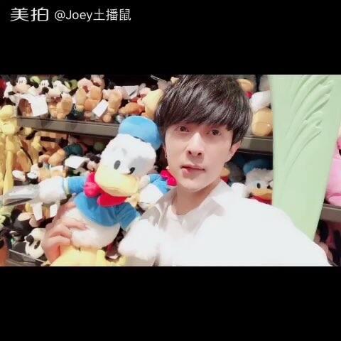 【Joey土播鼠美拍】#男神##男神鹿晗想带你去迪士尼#
