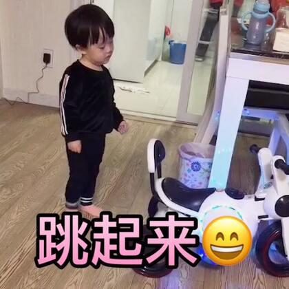 小苹果跳起来#宝宝##萌宝宝#