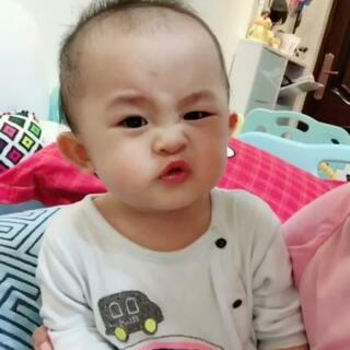 #萌宝宝##宝宝##宝宝成长记#认真点,认真点,难过的时候请你认真点。😂😂