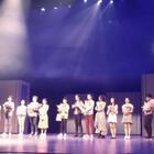 谢谢你们来看贝微微❤首演是个新开始💪💪好巧…下场见!舞台剧《微微一笑很倾城》上海艺海剧院 10月14~29日