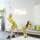 NC6岁小学员盈盈模仿#twice##twice - like ooh-ahh##舞蹈# 和老师一起跳优雅地