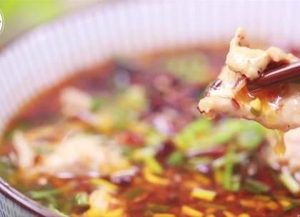 #美食##家常菜##水煮肉片#看着就让人流口水的水煮肉片,简单好做,美味学起来