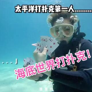 帕劳的海底游戏🎮约不约?#运动##普通朋友聚会vs死党聚会##敲打人生-达人秀#@美拍小助手