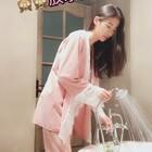 钻石绒睡衣,可爱到爆,少女感十足。❤️