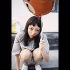 卖女孩的小气球😃噗噗噗#自拍#