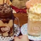 【P2】今天带外长去喝了期待已久的网红变态奶昔,哈哈,真的超级漂亮的~#美食##vlog#