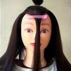 剪刘海教学,希望女生这次能够自觉学习!😂
