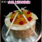 #美食##甜品##蛋糕#手工巧克力配水果,学员练习作品,非卖品