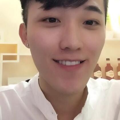 @和凡在一起 刘海发型来了哈哈#男神#