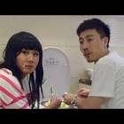 这个女人和男友在卫生间吃美食,宝宝发现却这样说他俩#小明和他的小伙伴们##吃秀##宝宝#