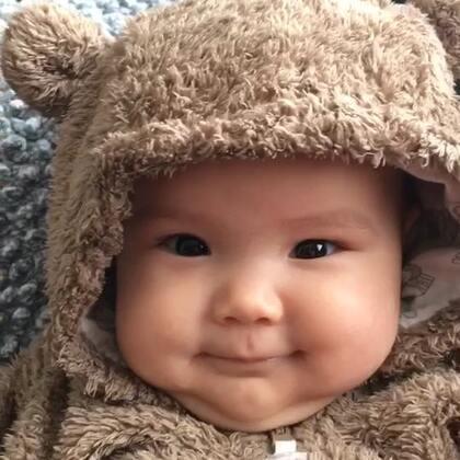#宝宝##搞笑##荷兰混血小小志&柒#熊出没... ...