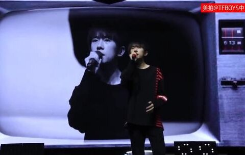 【TFBOYS中文网美拍】【TFBOYS易烊千玺】四周年SOLO唱...