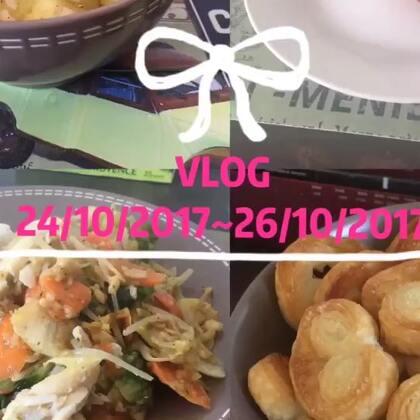 #日志##vlog#45 今天做了蝴蝶酥,给房东尝了尝说蛮好吃,剩下一半明天带去学校给同学吃😝