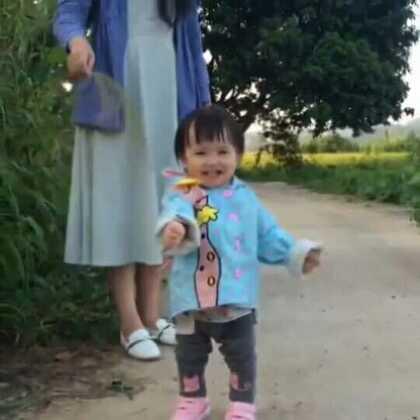 #宝宝##萌宝宝##可爱宝宝#小虾米在外婆家