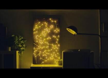 【星空灯装饰画】超美装饰画,给你一片璀璨星空