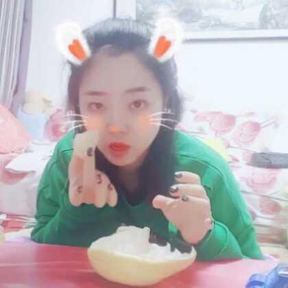 #直播吃水果##吃秀##减肥餐#今天录个吃柚子的吧 感冒了 嗓子火辣辣的😖😖😖
