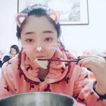 #吃秀##直播吃饭#直播吃东西##立冬吃饺子#今天立冬 吃饺子了 😝😝