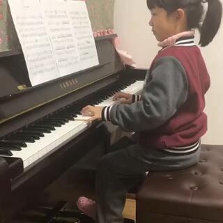 #钢琴##琴童日记##小小钢琴家#克劳汀幻想曲,新练的曲子有很多错误和瑕疵的地方!勿喷!