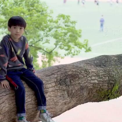 #U乐国际娱乐#10岁石俊喆第一首翻唱《童话》