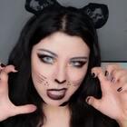 这是一个有故事的彩妆视频 哈哈 因为这个猫女妆 灵感来自我家小黑 它是一只流浪猫 特别聪明又特别通人性… 但毕竟是流浪猫身上野性难改 所以妆容画的会略妖野一点… 还OK吗… #猫咪妆#超好用粉底CC棒➕VX 38094832