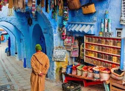摩洛哥,一个色色的国家!😍1分钟遇见多彩的非洲!#旅游##高颜值##我要上热门#