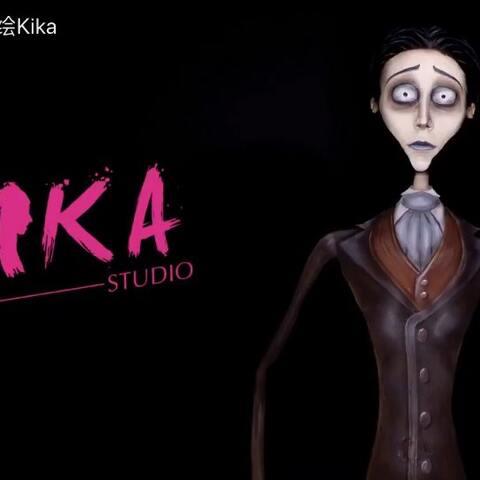 【人体彩绘Kika美拍】听说你们找我…我就来了…#僵尸...
