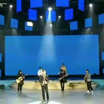 藏族著名歌手谢旦 在西宁彩排现场??????????-的美拍