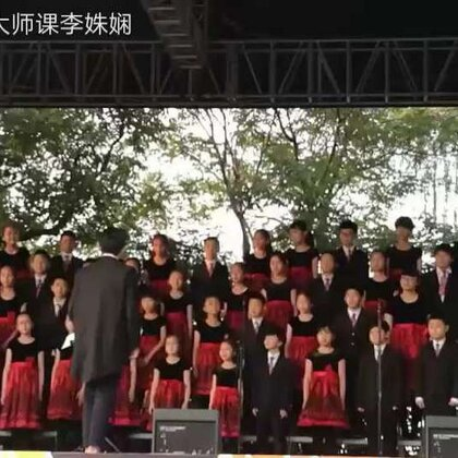 #豆豆唱歌#浙江少儿广播合唱团在杭州花朵音乐节上的演唱