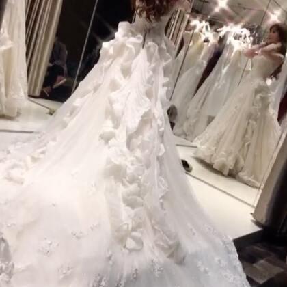 💝今天选婚纱😌必须记录一下!#我的美拍blingbling##婚纱礼服##咱们结婚吧#