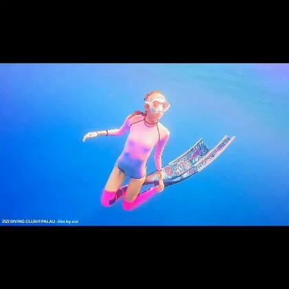 帕劳#旅行##潜水##女神#大蓝水怎么拍都好看~原色都不用滤镜