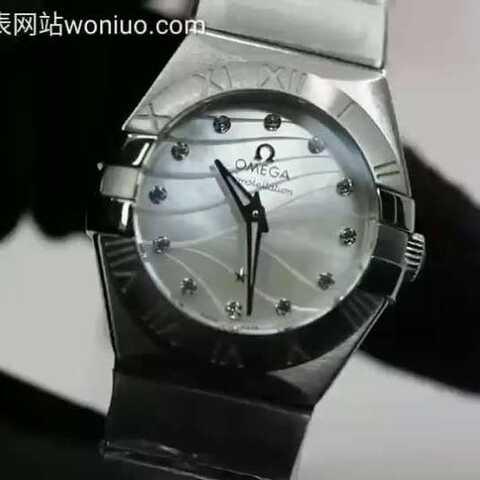 【蜗牛名表woniuo.com美拍】sss欧米茄星座系列27毫米石英腕...