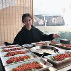 在紫竹桥吃最麻辣的重庆火锅,一顿吃掉十盘麻辣牛肉#美食##大胃王挑战##北京美食发现#