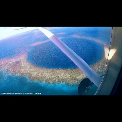 #旅行##潜水#墨西哥北部的粉色海 还有中美洲中部的伯利兹大蓝洞 十大未解之谜 包了架小飞机从墨西哥飞到伯里兹 在包船转了两个岛 再包一架小飞机飞到蓝洞上方转圈俯瞰 然后在里面大深度潜水 应该是这个月做的最酷的事了#运动#