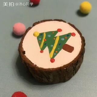 #木头##圣诞节#多少人以为是蛋糕😂惊不惊喜 意不意外