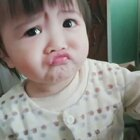 #宝宝##萌宝宝##表情大赛#你逗麻麻开心就好啦!不要跟我装可怜,我不是你粑粑,我不吃这一套😂😂😂