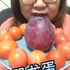 突然很想吃水果!恐龙蛋和一口柿#吃秀#