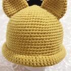 猫咪帽子教程-6#手工##手工编织宝宝帽子#@偶遇编织