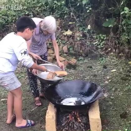 今天和奶奶一起做扣肉#美食#