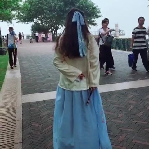 #红昭愿#舞蹈 公司徒步活动 来个不一样的服装